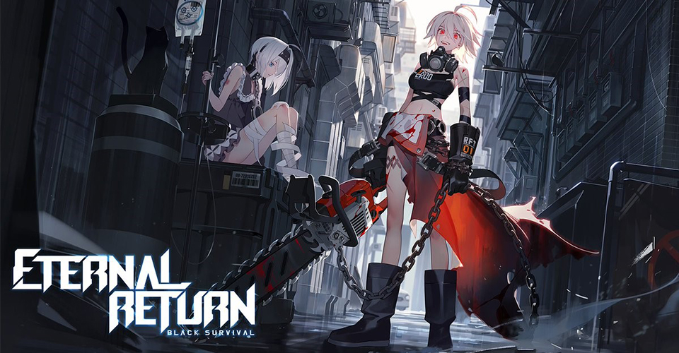 Новый Battle Royale в стилистике аниме  Eternal Return Black Survival
