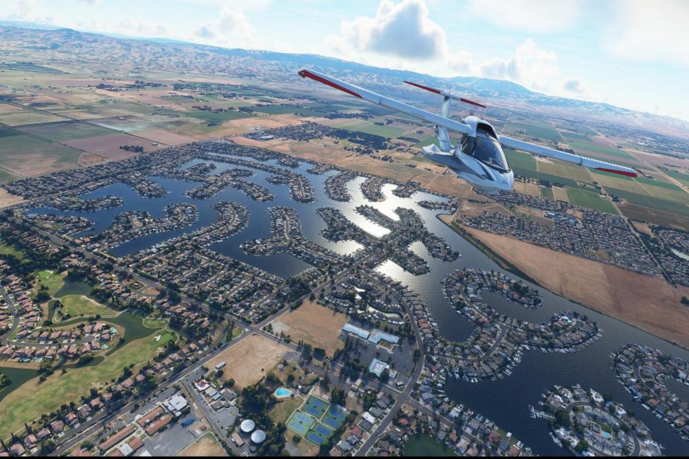 Microsoft Flight Simulator Уникальный обзор