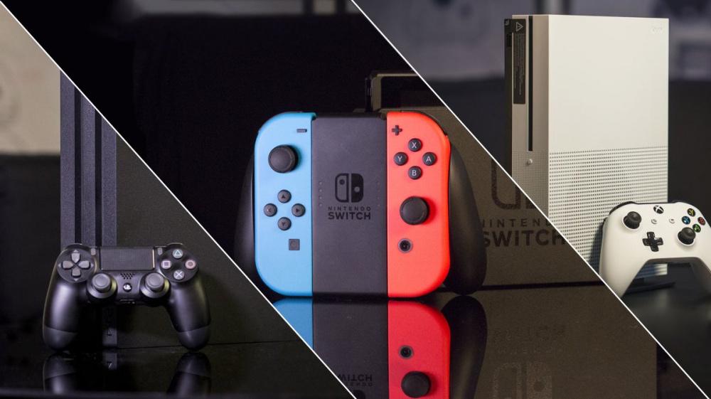 Лучшая игровая консоль 2020 PS4 vs Xbox One vs Switch