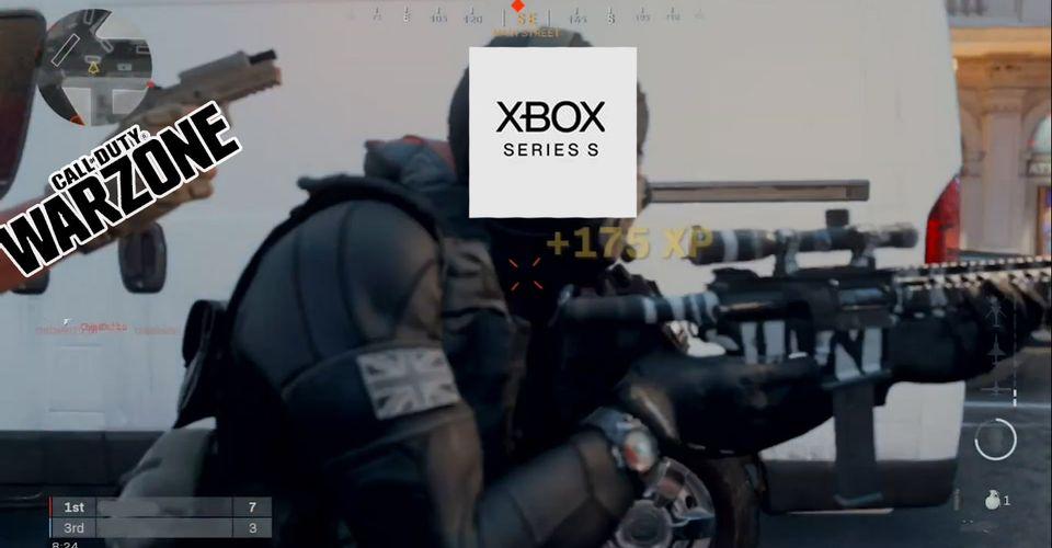 Call of Duty Warzone умудрится занять половину места на Xbox Series S
