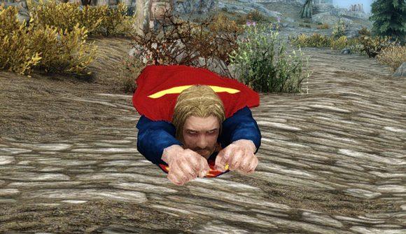 Мод для Skyrim Готовы стать суперменом
