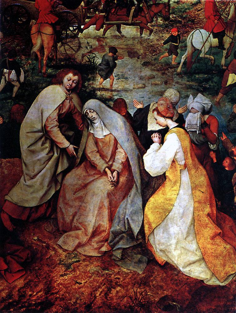 Процессия на Голгофу вышла сейчас приключенческая игра сделанная из прекрасных картин эпохи Возрождения
