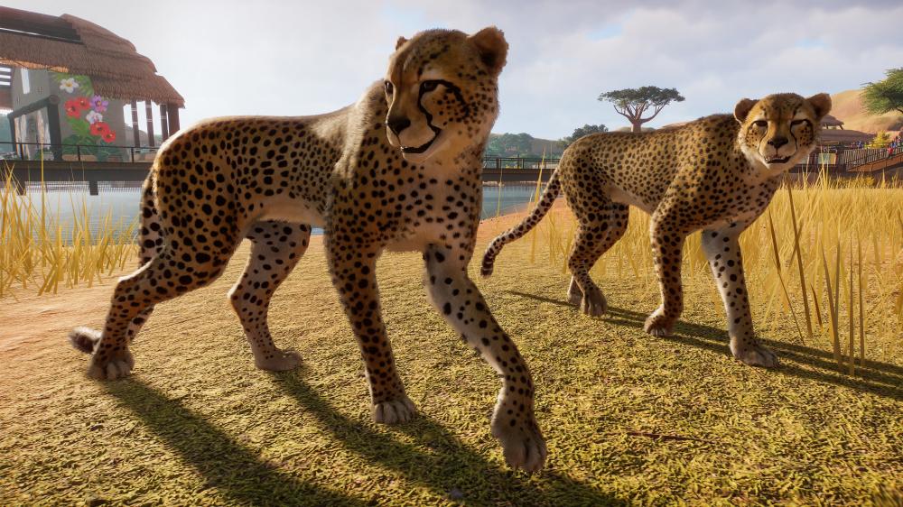 Пасхальные Читы Planet Zoo дают всем воздушные шары и делают животных quotсупер пушистымиquot