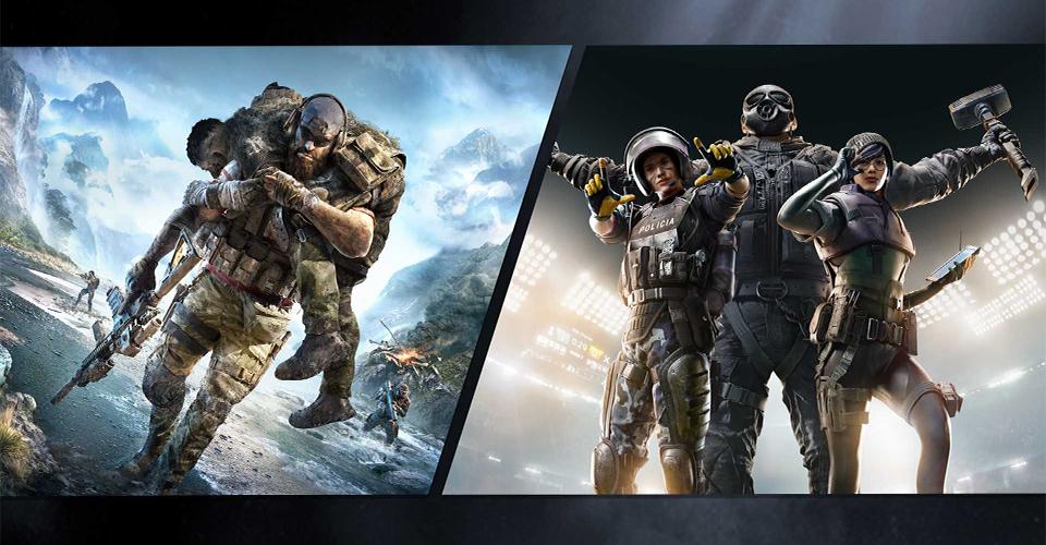 Появилась информация что в Ubisoft работают над коллаборацией Rainbow Six Siege и Ghost Recon Breakpoint