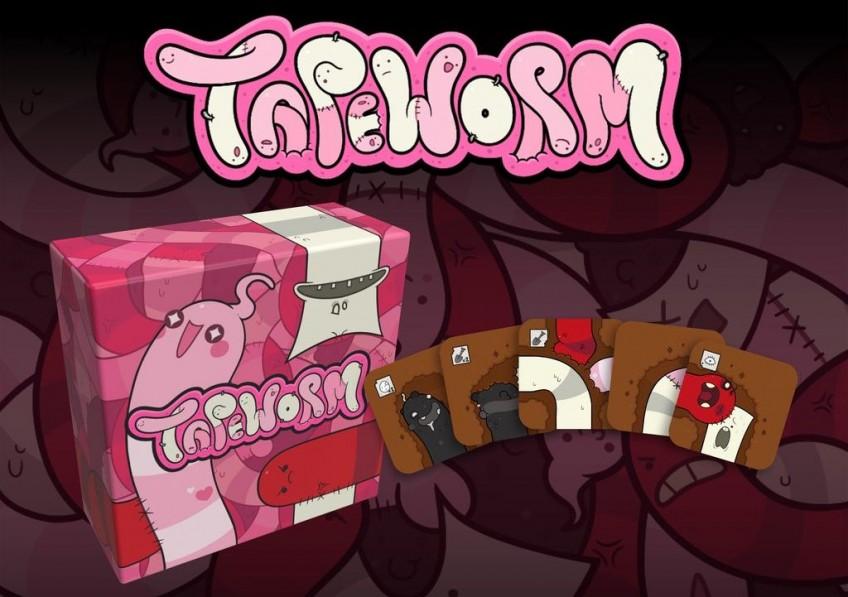 Tapeworm это карточная игра от создателя Binding of Isaac