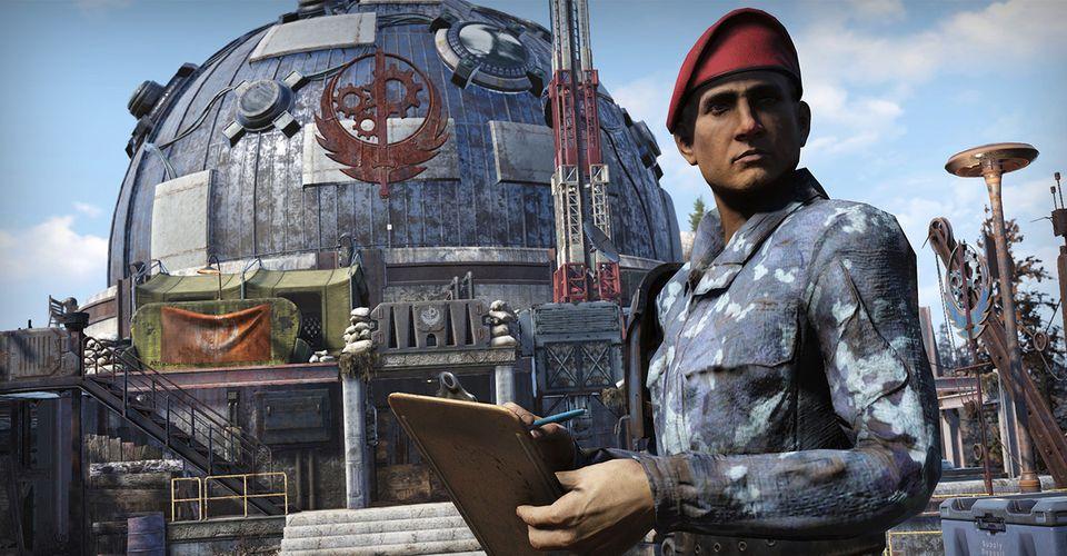 Fallout 76 Возвращение Братства Стали