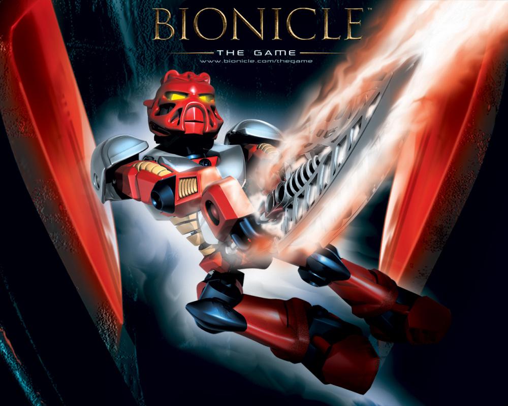 Открытый мир игры Лего Бионикл выглядит невероятно амбициозным