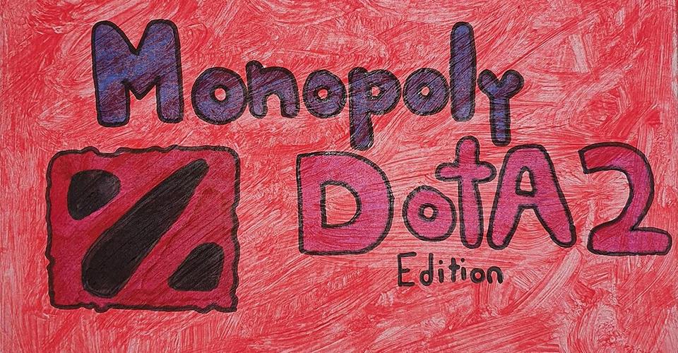 Монополия в стиле Dota 2 впечатлила пользователей на reddit