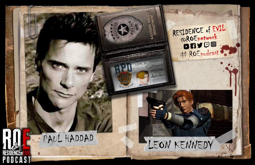 Пол Хаддад голос Леона Кеннеди в оригинальном фильме Resident Evil 2 умер