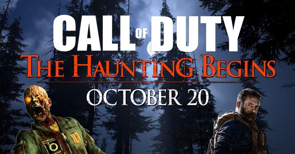 В Call Of Duty Warzone скоро начнтся настоящий Хэллоуин