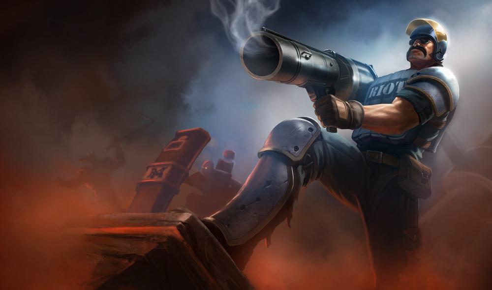 Riot требует quotкрупныхquot доблестных турниров чтобы отключить видимую кровь