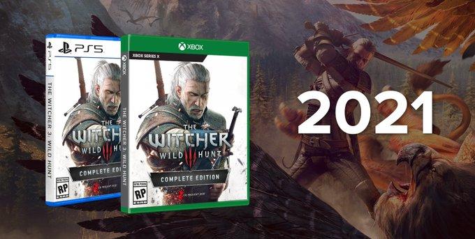 Ведьмак 3 выходит на PS5 и Xbox Series X c поддержкой технологии RTX