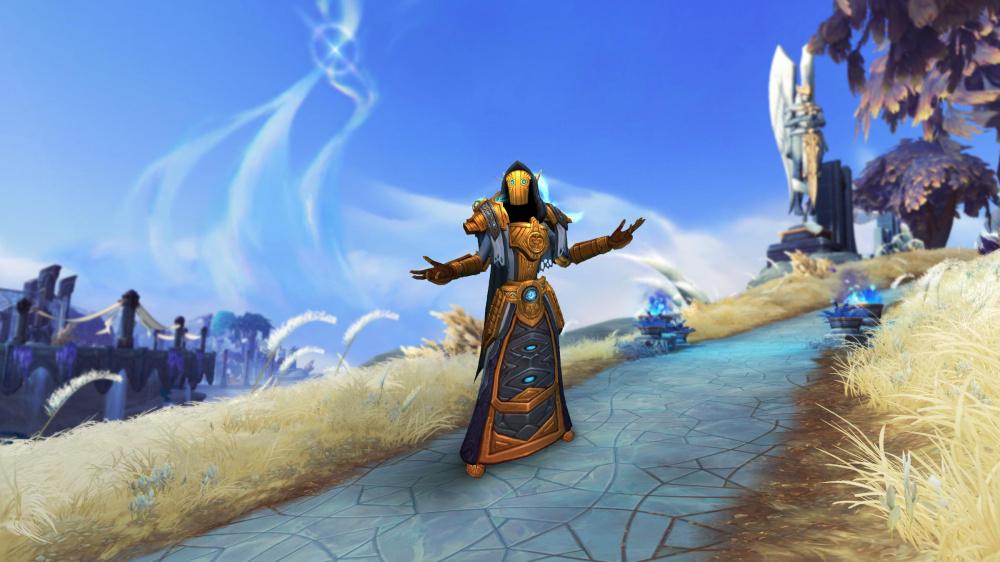 World of Warcraft Как разблокировать облачения набора Eternal Traveler