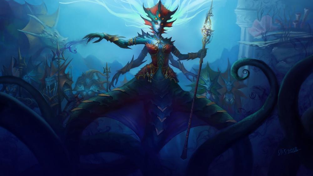 Первый взгляд на Подводное королевство 2 часть взгляда на рейд