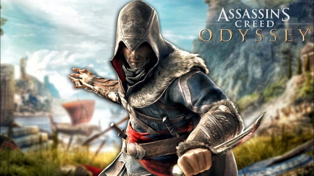 Assassins Creed Odyssey получает новый костюм Эцио