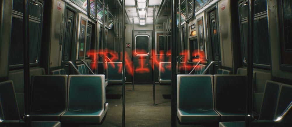 Вышел бесплатный ужастик в поезде метро Train 113