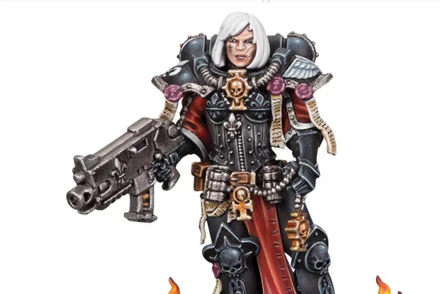 Warhammer 40000 представляет новых героев