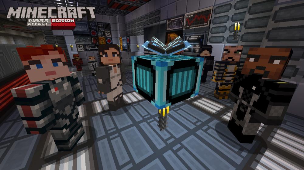 Mass Effect Теперь В Minecraft