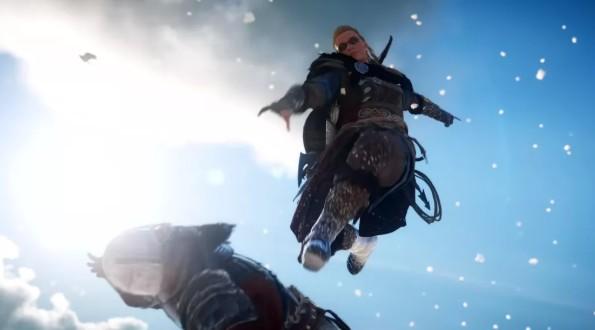 Assassins Creed Valhalla имеет удары в стиле Mortal Kombat XRay