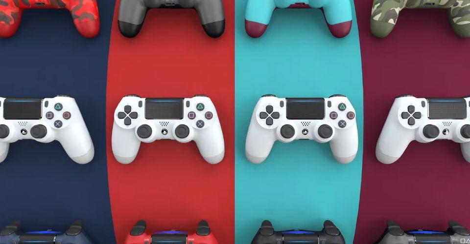 PlayStation возвращает контроллер DualShock 4 в необычных цветах