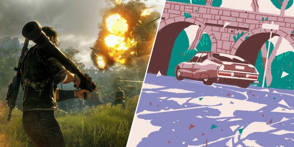 Just Cause 4 и Wheels of Aurelia бесплатны в магазине Epic Games Store