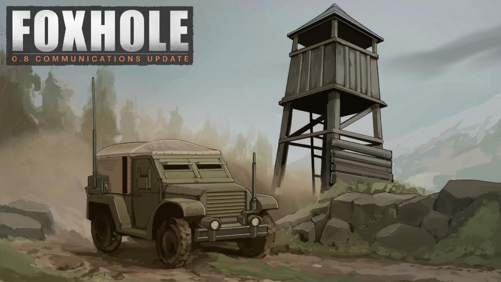 Последнее обновление Foxhole добавляет массовое производство в качестве топлива для ММО войны